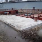 Изграждане на Палове с кейова част на територията на Терем Крз Флотски Арсенал